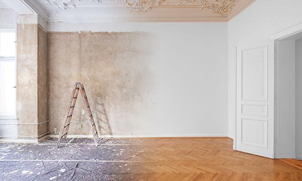 Festés utáni nagytakarítás